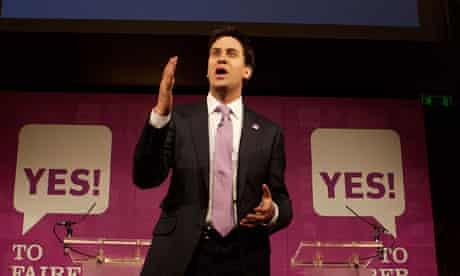 Ed Miliband, who has urged voters not to use the AV referendum to 'kick Nick Clegg'