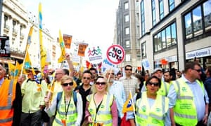 Public sector workers strike over pension cuts