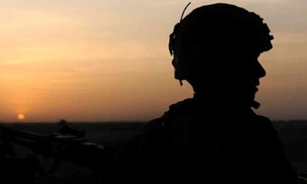 A British soldier from the 2nd Battalion Mercian Regiment Afghanistan