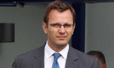 David Cameron's former communications chief, Andy Coulson
