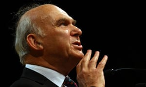 Vince Cable delivers his keynote address