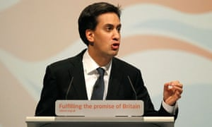 Ed Miliband speaks at the Labour conference
