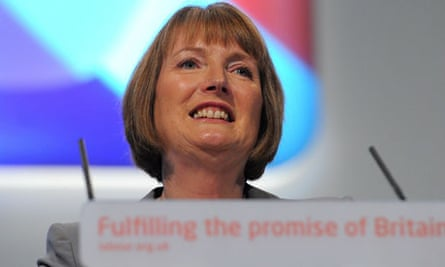 Harriet Harman at the Labour conference