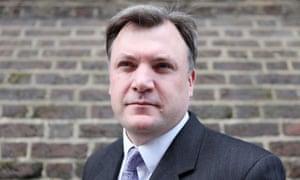 Ed Balls, the shadow chancellor
