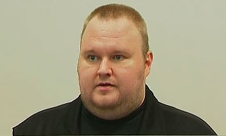 Kim Dotcom appears in a New Zealand court