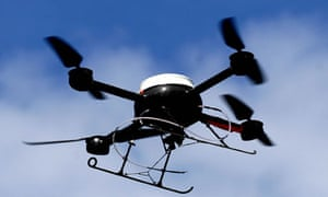 A police aerial surveillance drone