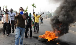 Protests against soaring petrol prices