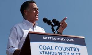Mitt Romney Campaigns In Virginia Coal Country