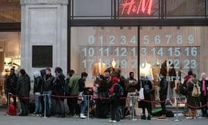 H&M store in Regent Street, London
