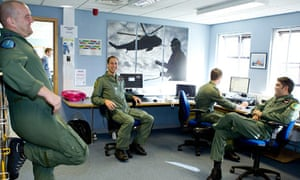 Prince William chats with colleagues