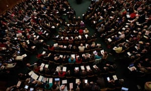 The Church of England synod votes on women bishop