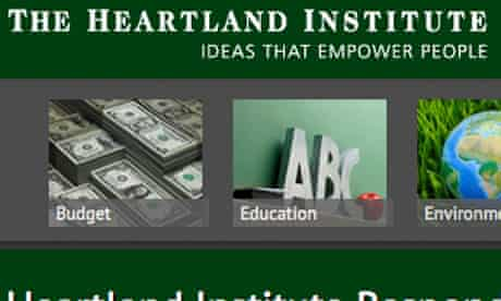 The Heartland Institute website