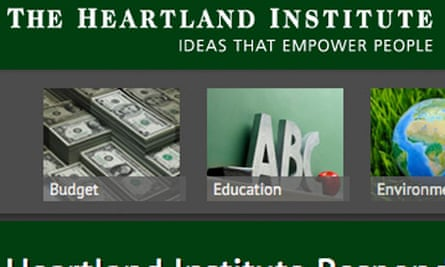 The Heartland Institute website