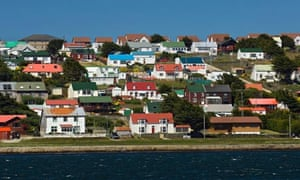 Stanley, the Falkland Islands capital