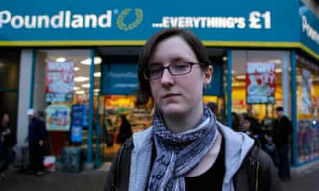 Cait Reilly says she was made to work in her local Poundland store for three weeks unpaid