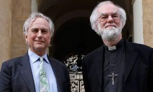 Richard Dawkins and Rowan Williams