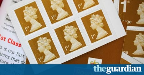 Cost Of Stamps Rises As Royal Mail Gets New Price Setting Powers Business The Guardian