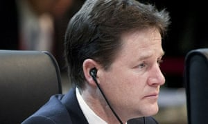 Nick Clegg at the nuclear security summit