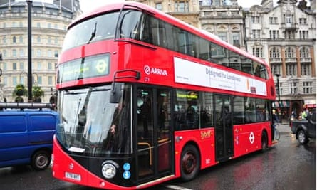 The 'new Routemaster' bus