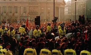 Poll tax riot of 1990