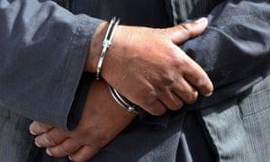 A prisoner in Afghanistan