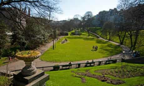 Union Street Gardens in Aberdeen