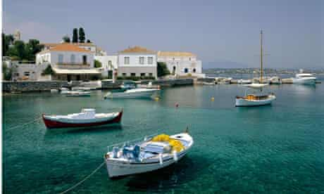 Spetses in Greece