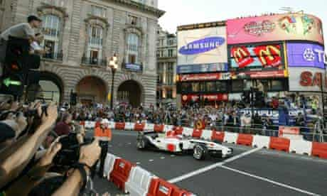 Formula One Regent Street Parade, London