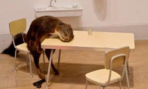 Dead squirrel: Bidibidobidiboo from Maurizio Cattelan's exhibition