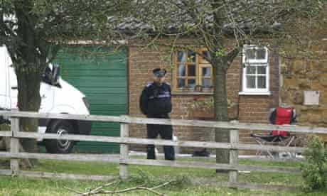 Farmhouse in Welby, Melton Mowbray, where the attempted burglary occured