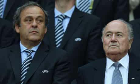 Platini and Blatter