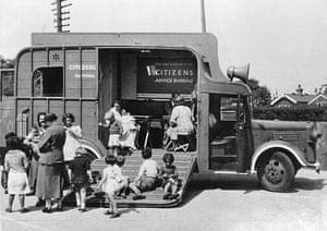 Citizens Advice at 70: The horsebox - the first Citizens Advice Bureau outreach vehicle