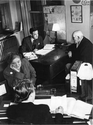 Citizens Advice at 70: Citizen Advice Bureau advisers at work during Wartime