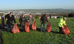 Shadsworth estate, community litter pick