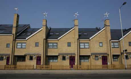 New council houses in Croydon, London