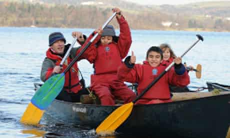 Lake expedition led by the Outward Bound Trust