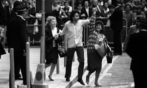 Gerry Conlon, one of the Guildford Four