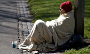Budget cuts will leave homeless people falling further and further from help.
