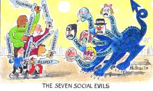 The Seven Social Evils by Louis Hellman