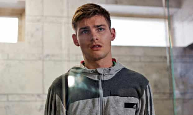 Hollyoaks actor Kieron Richardson who will play the first gay soap opera character with HIV.