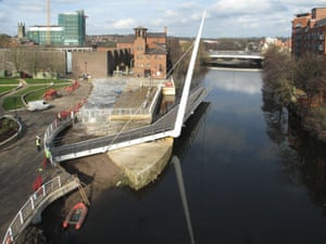 Public architecture award: Cathedral Green Footbridge, Derby