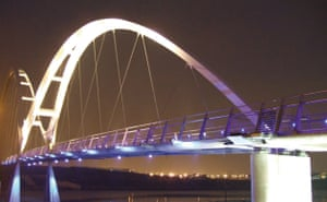 Public architecture award: Infinity Bridge, Stockton on Tees