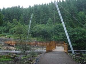 Public architecture award: Lewisburn Bridge, Kielder Village, Northumberland