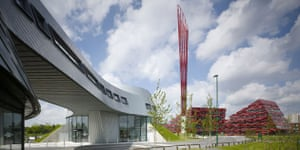 Public architecture award: Nottingham University Jubilee campus extension