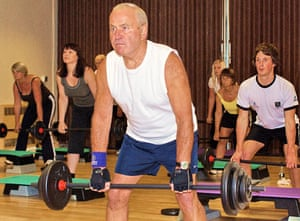 Age, Snapped: Ray Timlin - RSVP - Weightlifter