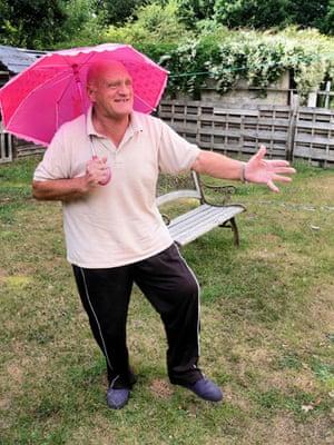 Age, Snapped: Natasha Smith – Granddad Dancing with Umbrella