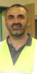 Street sweeper foreman Nigel Rutter