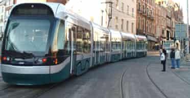 Tram, Nottingham