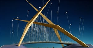 The proposed Bridge of Reeds project