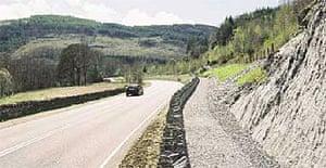 Cardiff-Glan Conway road